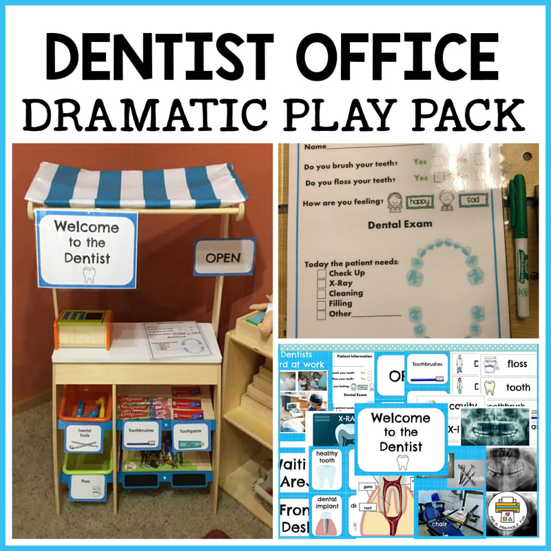 #dentist | Dentist In Your Home | Pinterest | Dramatic ... |Preschool Dramatic Play Dentist