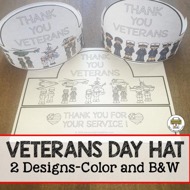 Free Veterans Day Hat